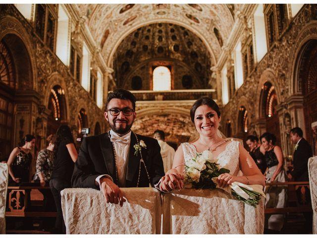 La boda de Flor y Manuel