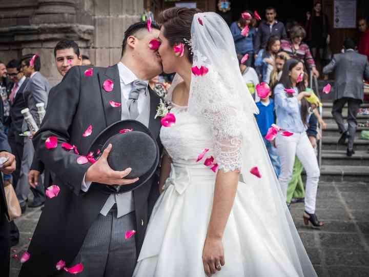 La boda de Moises y Erika