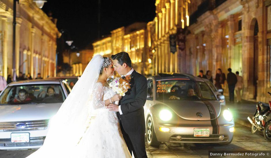 La boda de José y Marce en Zacatecas, Zacatecas