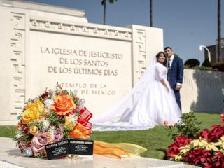 La boda de Eugenia  y Mahonri 3