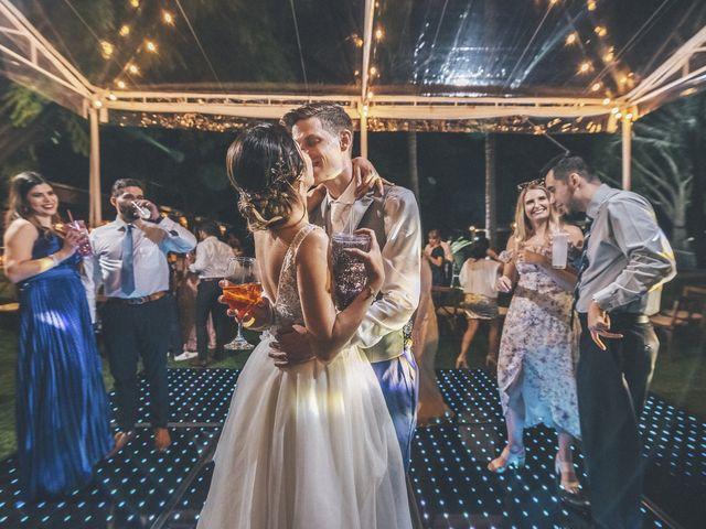 La boda de Mónica y James