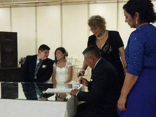 La boda de Abigail  y Luis Abraham  1