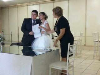 La boda de Abigail  y Luis Abraham  2