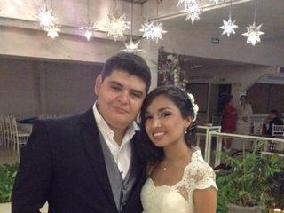 La boda de Abigail  y Luis Abraham