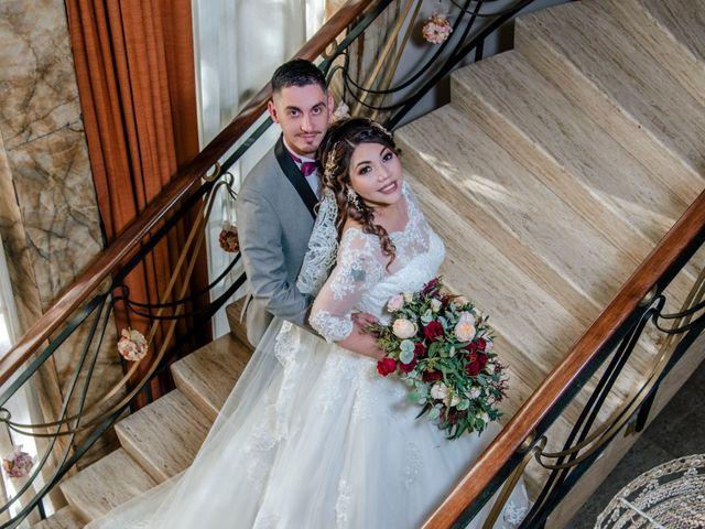 La boda de Yudith y Adrian