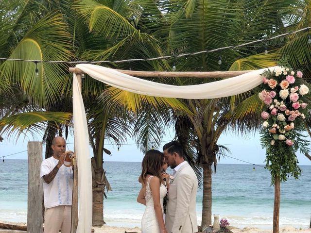 La boda de Jorge y Andrea en Tulum, Quintana Roo 4