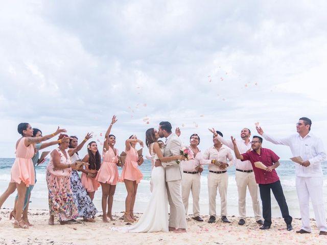 La boda de Jorge y Andrea en Tulum, Quintana Roo 2