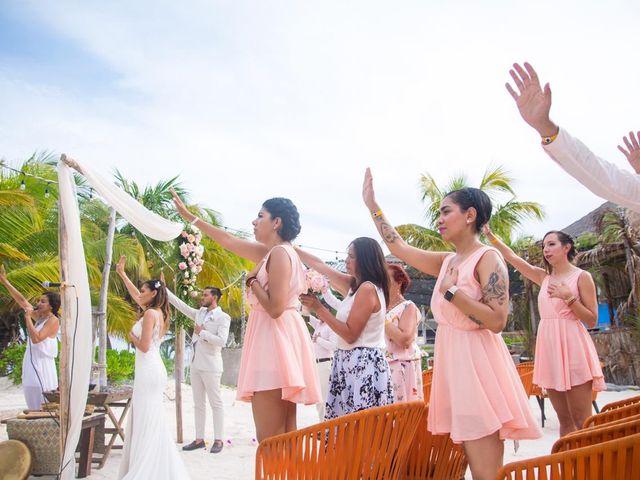 La boda de Jorge y Andrea en Tulum, Quintana Roo 9