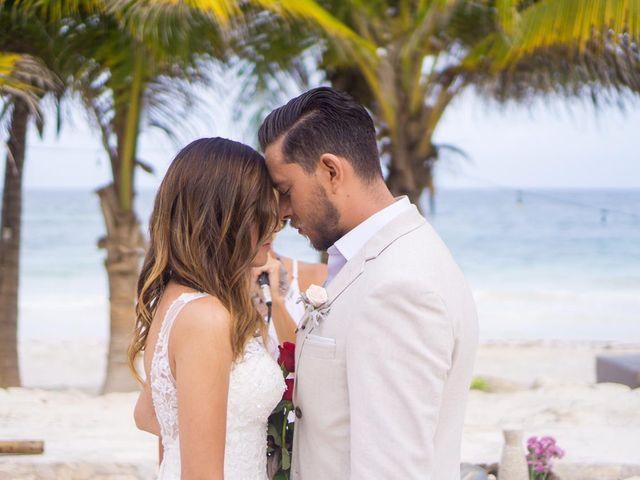 La boda de Jorge y Andrea en Tulum, Quintana Roo 10