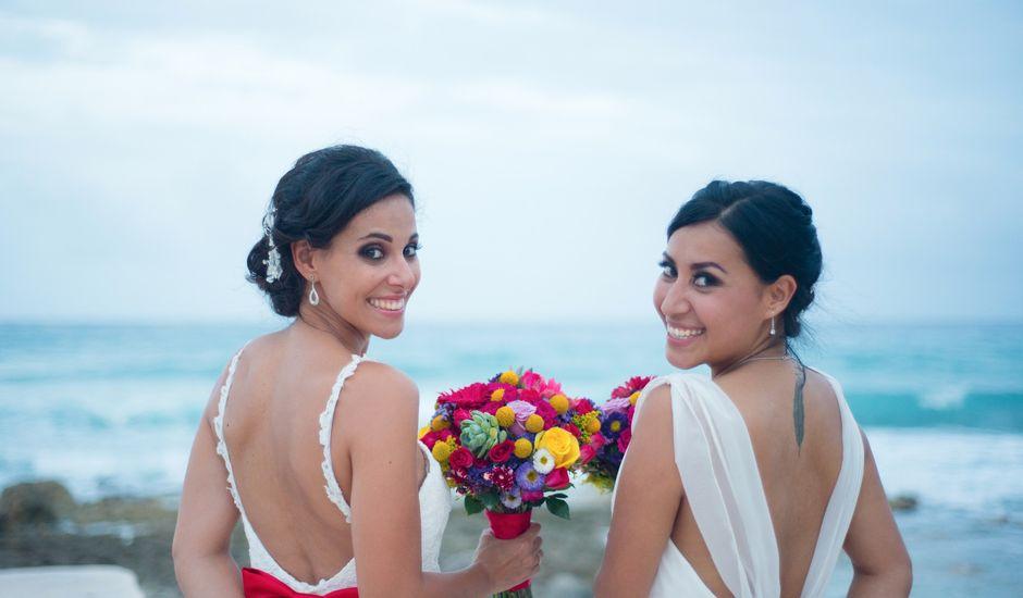 La boda de Ariadna  y Laura  en Playa del Carmen, Quintana Roo