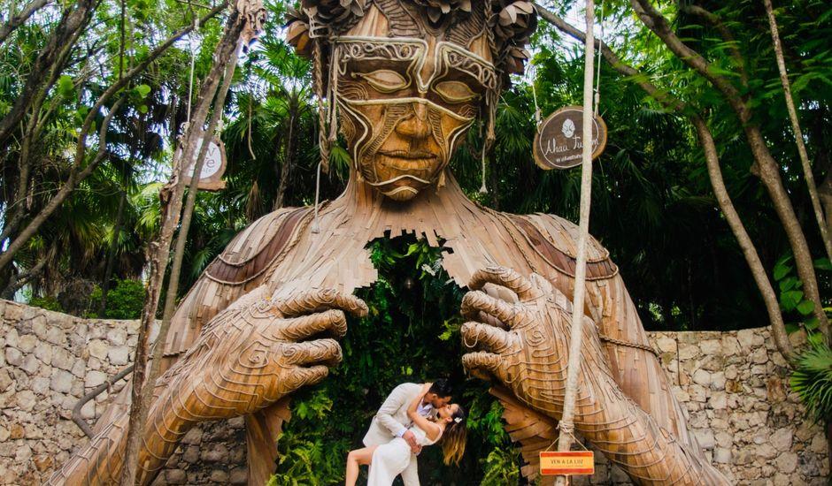 La boda de Jorge y Andrea en Tulum, Quintana Roo