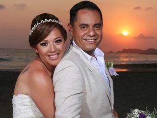 La boda de Liz y David
