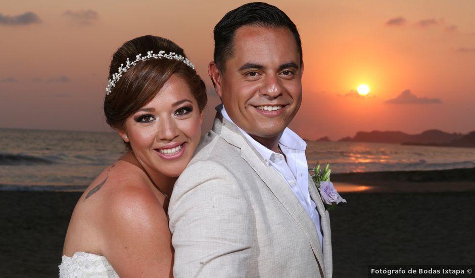 La boda de David y Liz en Ixtapa Zihuatanejo, Guerrero