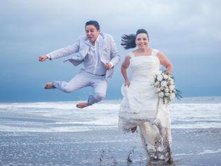 La boda de Brian y Fabiola