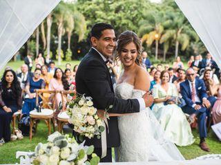 La boda de Andrea y Leo