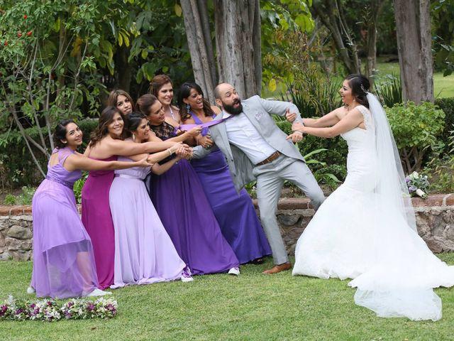 La boda de Estela y José
