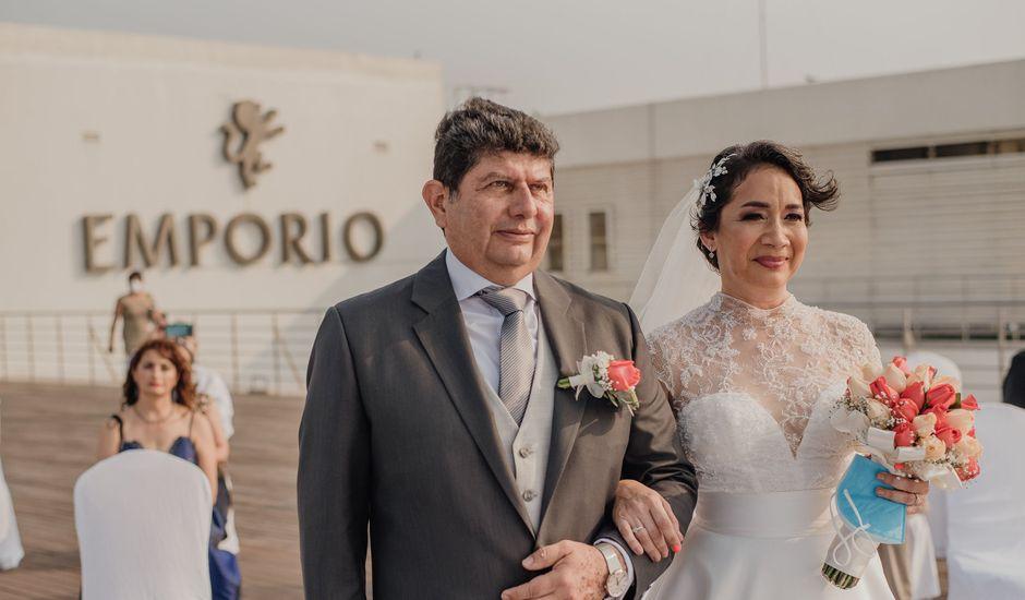 La boda de Rafael  y Eugenia del Carmen  en Veracruz, Veracruz