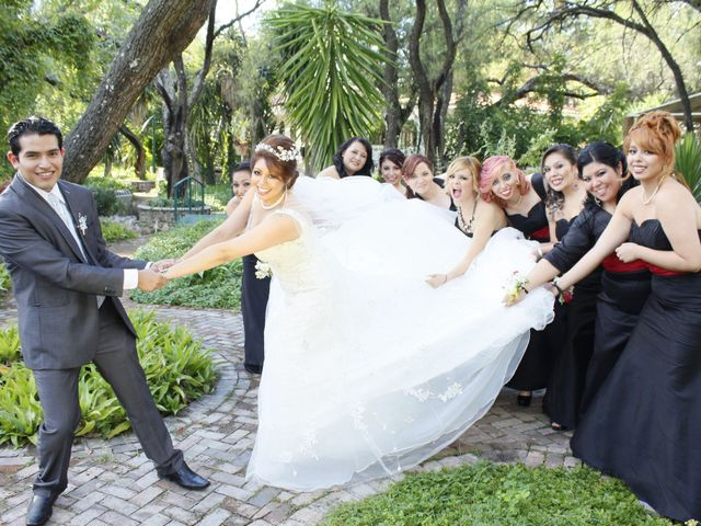 La boda de Erika y Ángel
