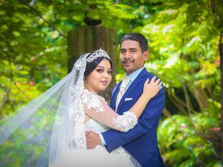 La boda de Grecia y Erick