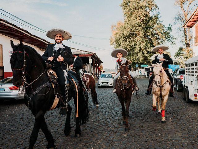 La boda de Alfonso y Alejandra en Pátzcuaro, Michoacán 45