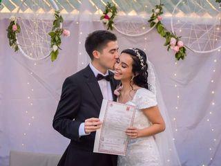 La boda de Karina  y Alan  3