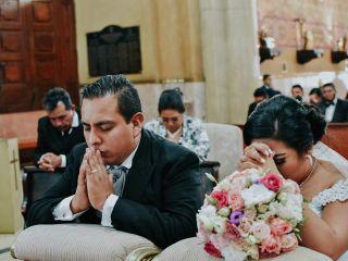 La boda de Alejandra Sánchez Pérez y Jair Gaona de la Peña