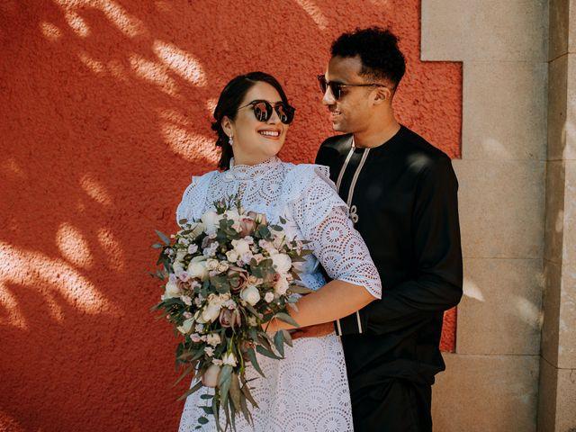 La boda de Karla y Djibril