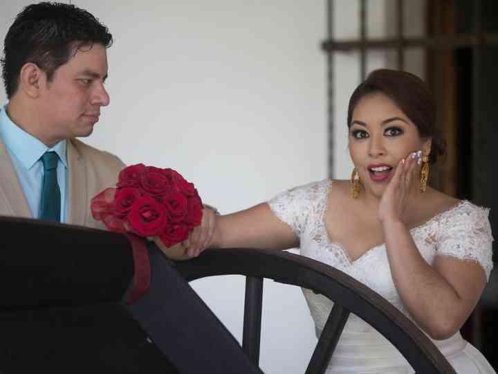La boda de Sthefanie y Javier