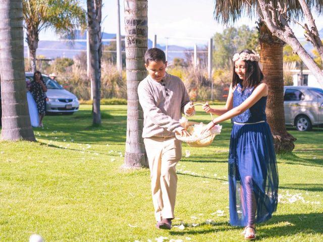 La boda de Andrea y Fidel en Ixmiquilpan, Hidalgo 6
