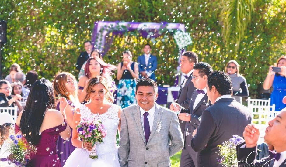 La boda de Andrea y Fidel en Ixmiquilpan, Hidalgo