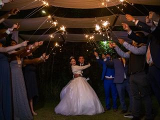 La boda de Fabiola y Iván