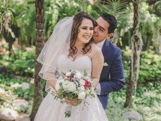 La boda de Roxanna y Alfredo