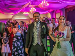 La boda de Tanya  y Martín