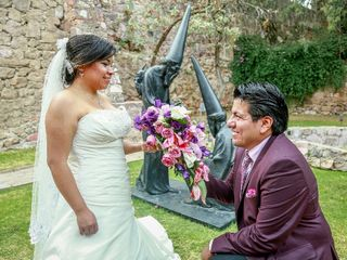 La boda de Cristóbal y Lilia