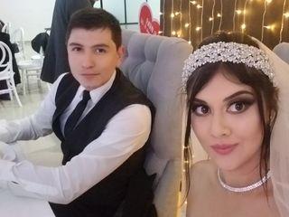 La boda de Selene  y Adán