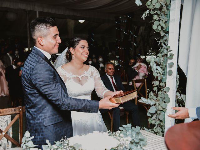 La boda de Gustavo y Isabell en Cuautitlán Izcalli, Estado México 111