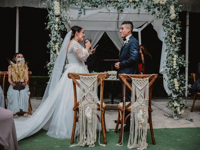La boda de Gustavo y Isabell en Cuautitlán Izcalli, Estado México 129