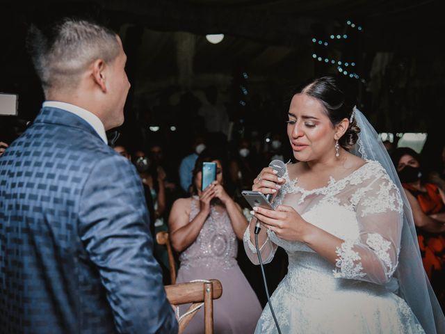La boda de Gustavo y Isabell en Cuautitlán Izcalli, Estado México 131