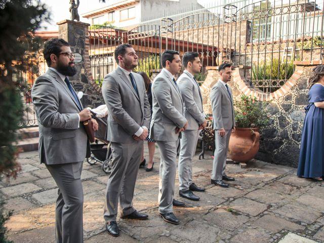 La boda de Oscar y Mariana en Coyoacán, Ciudad de México 18