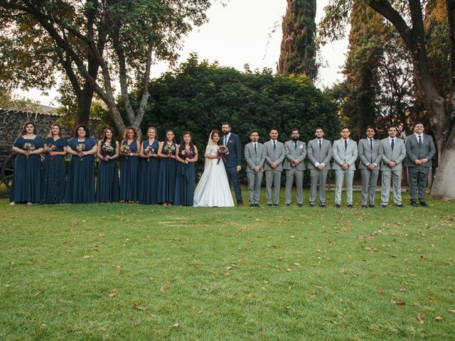 La boda de Oscar y Mariana en Coyoacán, Ciudad de México 38