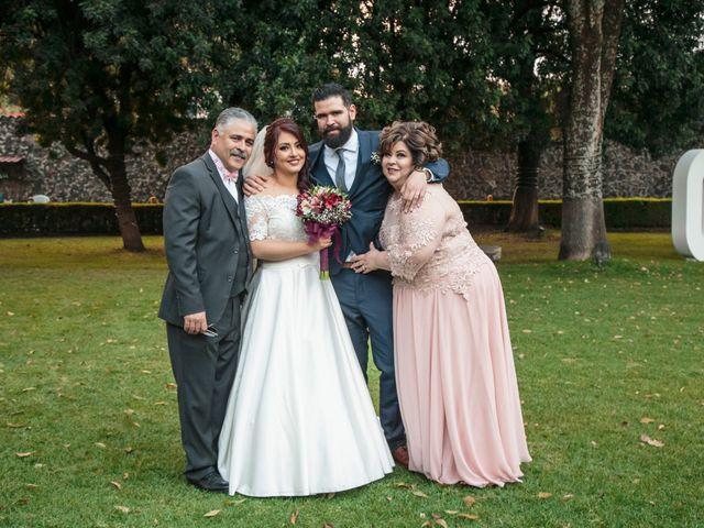 La boda de Oscar y Mariana en Coyoacán, Ciudad de México 43