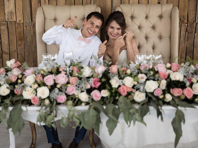 La boda de Bianca y Hugo