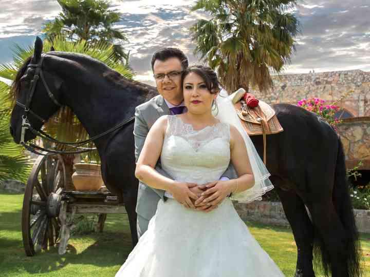 La boda de Paty y Adan
