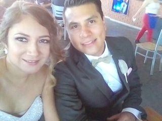 La boda de Rosa Linda  y Alejandro