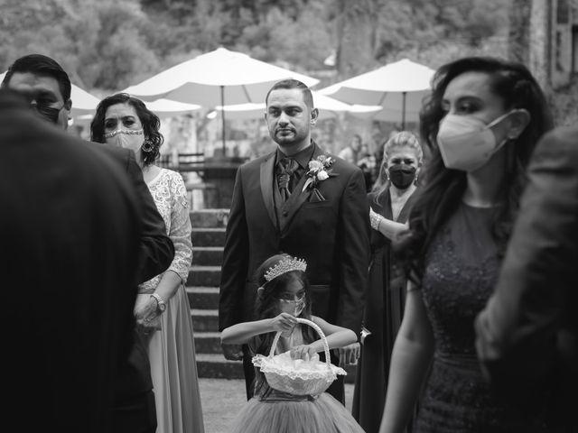 La boda de Oscar y Iris en Huasca de Ocampo, Hidalgo 14