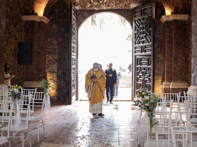 La boda de Oscar y Iris en Huasca de Ocampo, Hidalgo 16