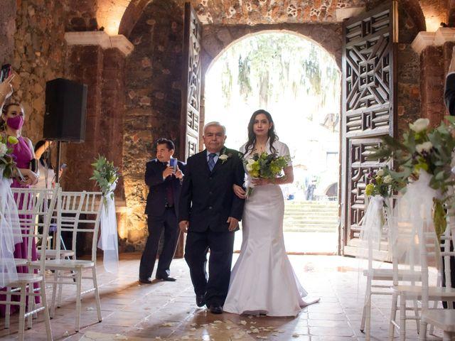 La boda de Oscar y Iris en Huasca de Ocampo, Hidalgo 20