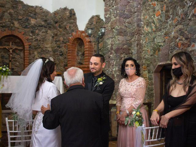 La boda de Oscar y Iris en Huasca de Ocampo, Hidalgo 21