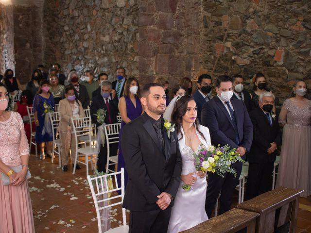 La boda de Oscar y Iris en Huasca de Ocampo, Hidalgo 22