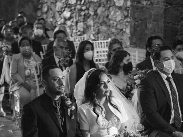 La boda de Oscar y Iris en Huasca de Ocampo, Hidalgo 23